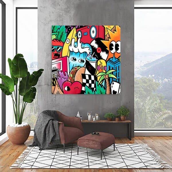 תמונה צבעונית לבית